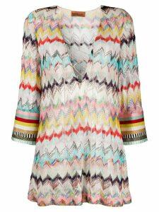 Missoni Mare fine knit beach dress - PINK