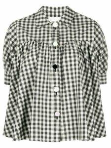 Neul vichy print shirt - Black