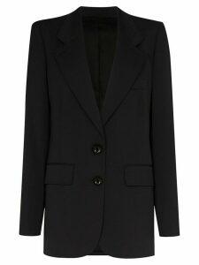 Lemaire single-breasted blazer jacket - Black