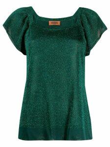 Missoni fine knit top - Green