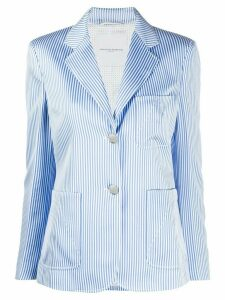 Ermanno Scervino striped print blazer - Blue