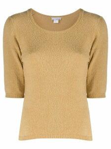 Avant Toi short-sleeved sweater - NEUTRALS