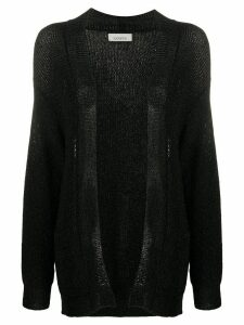 Laneus open-front cardigan - Black