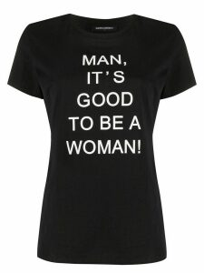 Marlies Dekkers 'man, it's good to be a woman' T-shirt - Black