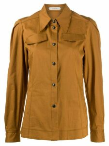 Dorothee Schumacher long sleeved shirtpoint - Brown