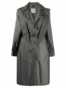 Moncler belted trench coat - Grey