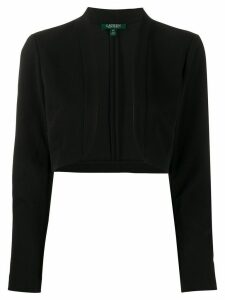 Lauren Ralph Lauren jersey-crepe shrug - Black