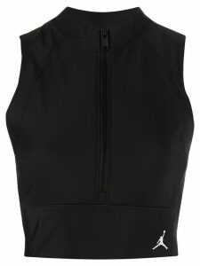Nike Jordan bodycon crop top - Black