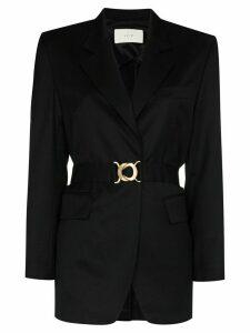 LVIR Summer belted blazer - Black