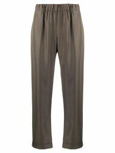 P.A.R.O.S.H. elasticated waistband trousers - Green