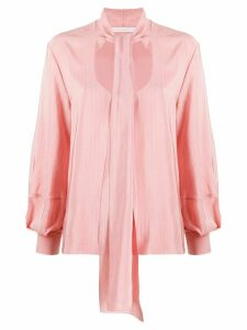 Chloé scoop-neck blouse - PINK