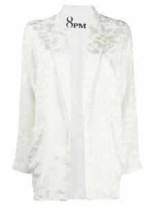 8pm jacquard jacket - White