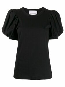 Philosophy Di Lorenzo Serafini puff sleeve T-shirt - Black