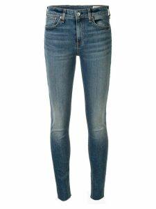Rag & Bone low rise skinny trousers - Blue