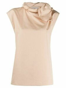 Givenchy lace detail blouse - NEUTRALS