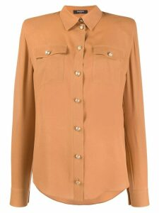 Balmain pointed collar shirt - NEUTRALS