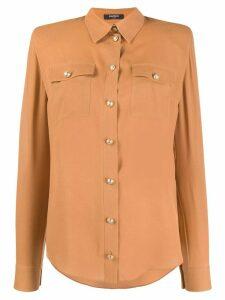Balmain pointed collar shirt - NEUTRALS