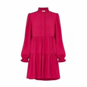 Kitri Scarlett Berry Smock Mini Dress