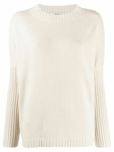 Max Mara knitted jumper - NEUTRALS