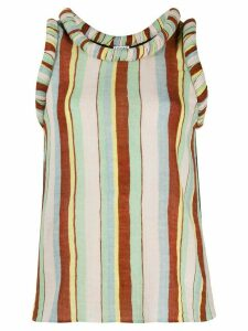 Loewe striped tank top - Green