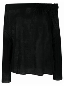 Pierantoniogaspari off the shoulder jumper - Black
