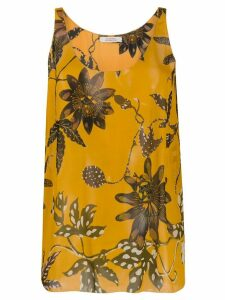 Dorothee Schumacher floral print top - Yellow