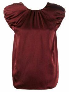 Rochas round neck T-shirt - Red