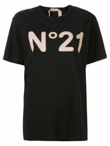 Nº21 logo loose-fit T-shirt - Black