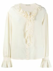 Etro ruffled blouse - NEUTRALS