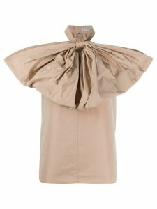 Givenchy oversize bow top - NEUTRALS