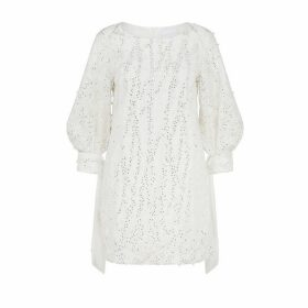 Noon By Noor Hove Pearl Embroidery Dress