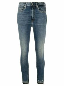 Calvin Klein Jeans faded skinny jeans - Blue