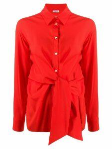 P.A.R.O.S.H. Senvery tie-waist shirt - Red