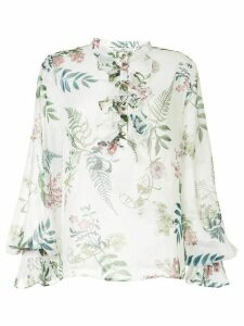 We Are Kindred Frankie pleated blouse - White