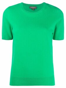 N.Peal crew neck cashmere T-Shirt - Green