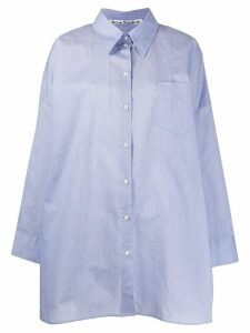 Acne Studios oversized boxy-fit shirt - Blue