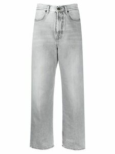 Acne Studios 1993 cropped straight-leg jeans - Grey