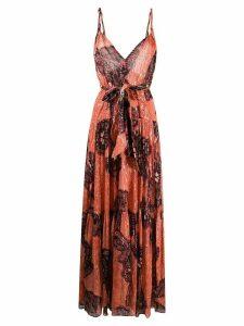Ulla Johnson Kemala floral maxi dress - PINK