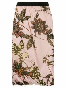 Dorothee Schumacher floral print skirt - PINK