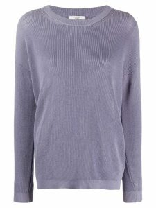 Peserico fine knit jumper - PURPLE
