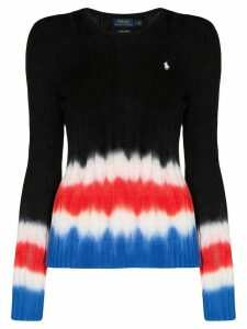 Polo Ralph Lauren polo pony tie-dye jumper - Black