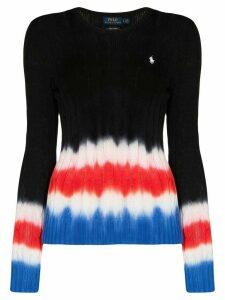 Polo Ralph Lauren polo pony tie-dye jumper - Black