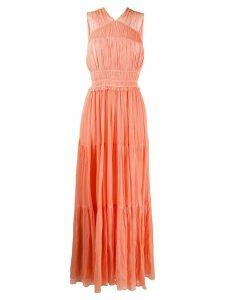 Ulla Johnson Freesia empire-line maxi dress - ORANGE