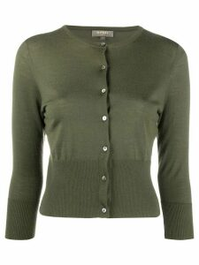 N.Peal cropped cashmere cardigan - Green