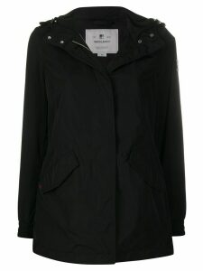 Woolrich concealed zip jacket - Black