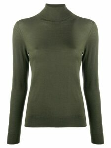 N.Peal roll neck cashmere jumper - Green