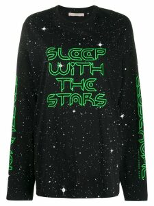 Christopher Kane Sleep with the Stars longsleeve T-shirt - Black