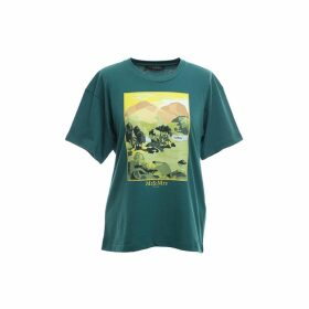 Mr & Mrs Italy Landscape Printed T-shirt