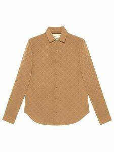 Gucci GG jacquard shirt - NEUTRALS