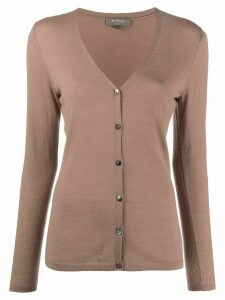 N.Peal v-neck cashmere cardigan - Brown